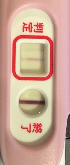 妊娠検査薬D26ET11高温期13日目